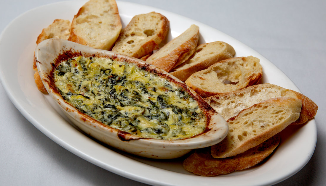 Artichoke Dip Picture -- Mallory's Restaurant & Rooftop Bar, 