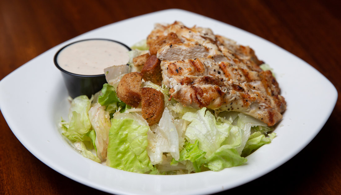Caesar Salad Picture -- Mallory's Restaurant & Rooftop Bar, 
