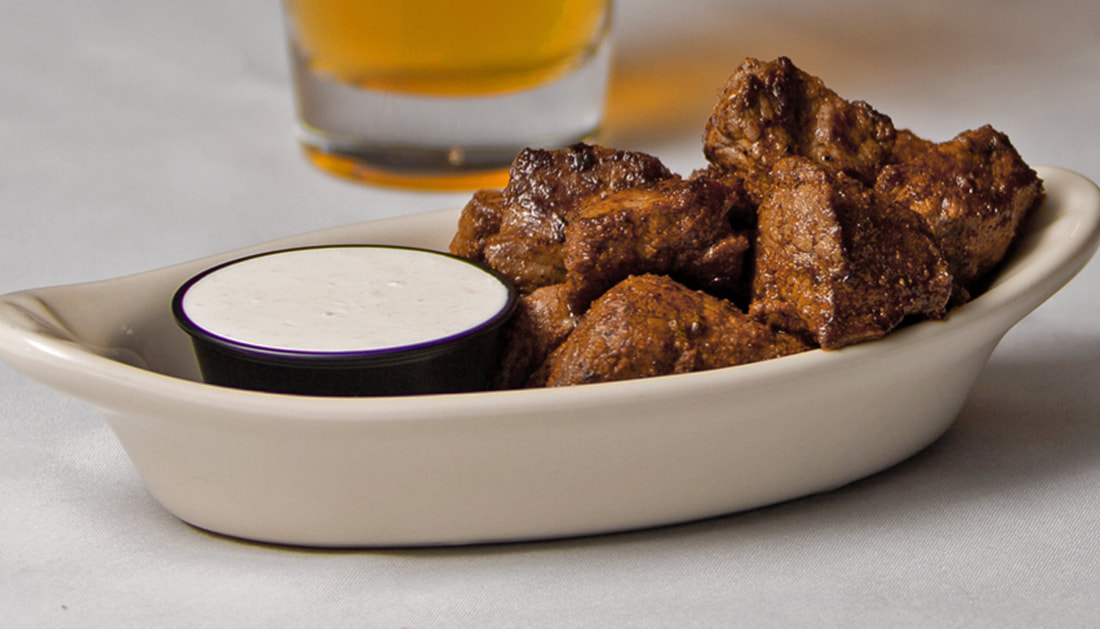 Cajun Steak Bites Picture -- Mallory's Restaurant & Rooftop Bar, 