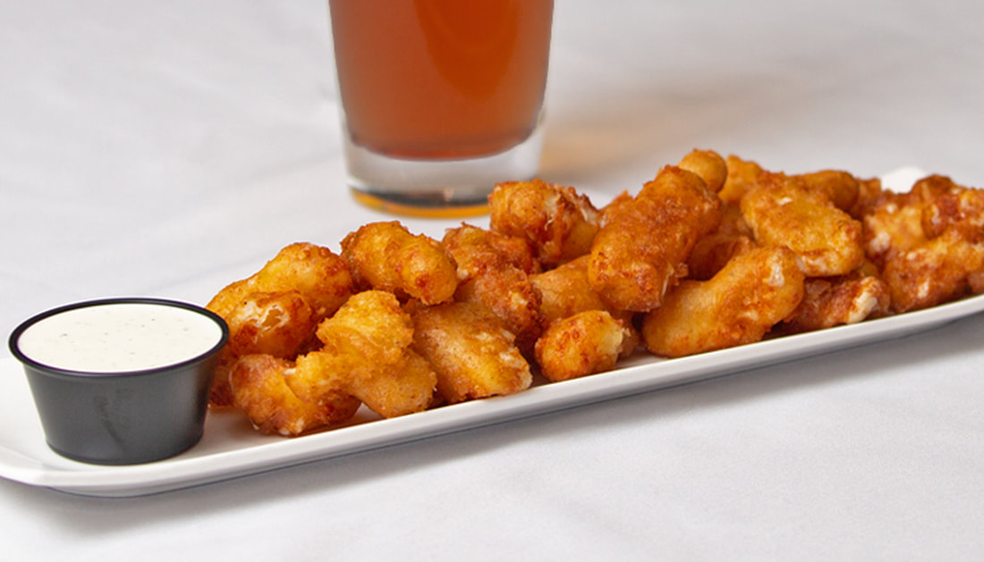 Cheese Curds Picture -- Mallory's Restaurant & Rooftop Bar, 