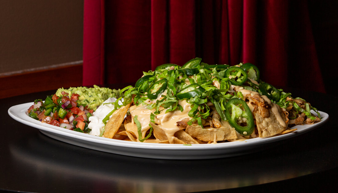 Chicken Nachos Picture -- Mallory's Restaurant & Rooftop Bar, 