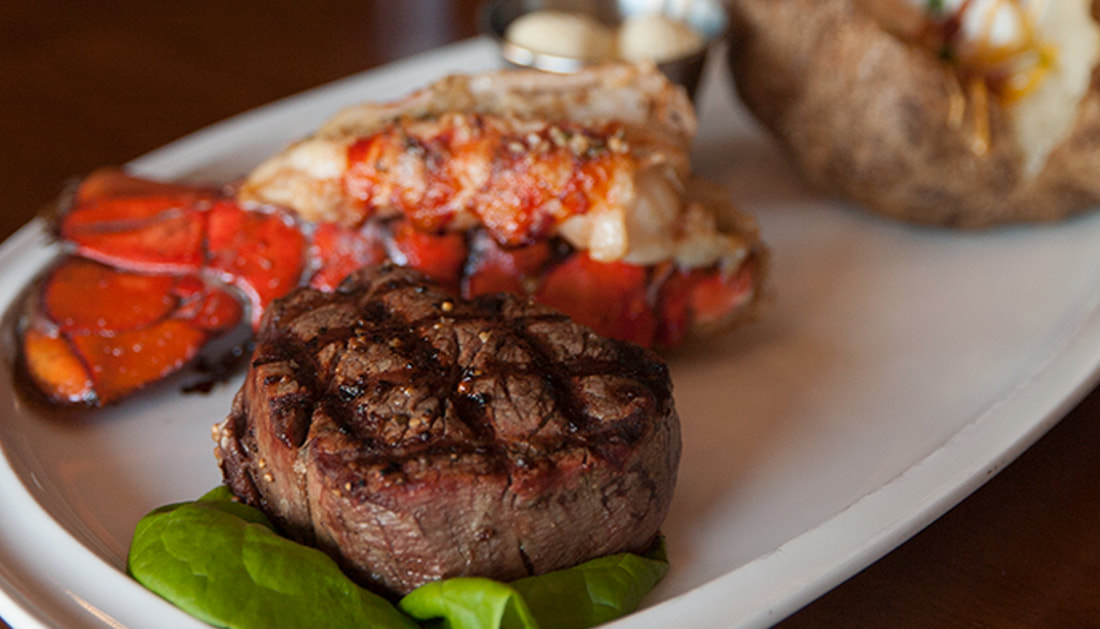 Surf & Turf  Picture -- Mallory's Restaurant & Rooftop Bar, 