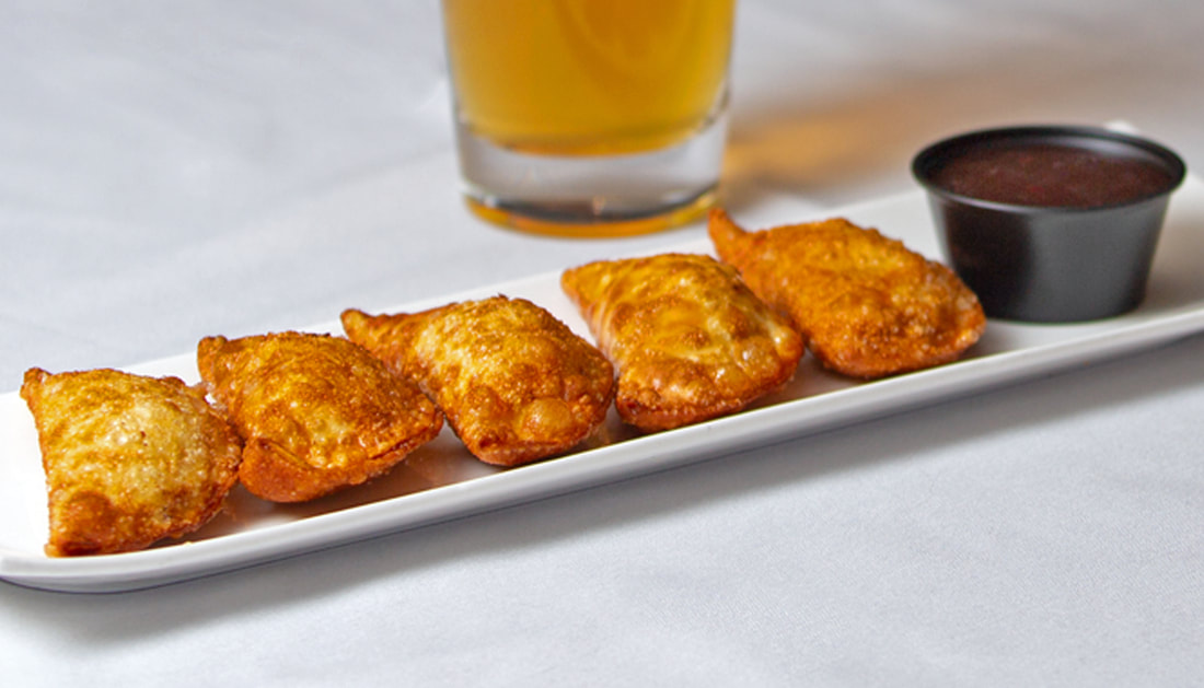 Wontons Picture -- Mallory's Restaurant & Rooftop Bar, 